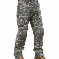 CQC Tactical Pants Cargo Men Army Hunting Paintball Camoufla...