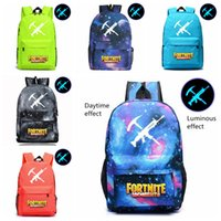 12 Styles Fortnite Luminous game backpack Unisex Student Sch...
