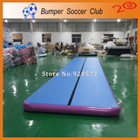 Envío libre de la bomba 9x2x0.2m inflable Air Gym pista tumbling Mat, DWF Material Air Track / inflable Airtrack
