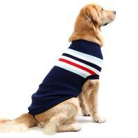 Camisola Do Animal de Estimação Do natal Roupa Do Cão Para Pequeno Médio Grande Cães Filhote de Cachorro Pet Cat Camisola Do Cão Casaco de Malha Respirável Cães de Inverno Outfit M-XXXXL