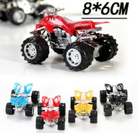 Pull Back Kids Toy Motorcycle Mini New Four- Wheeled Off- Road...
