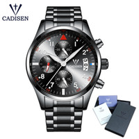 2018 New CADISEN Top Men Watches Fashion Business Luxury Bra...