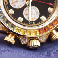 Designer Watches Women Diamond Automatic Watch Colorful Rhin...