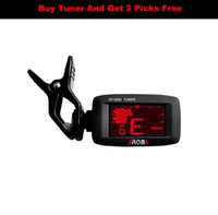 Aroma AT- 200D High Quality Clip On Guitar Tuner Portable Uni...