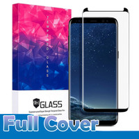 Case friendly version für samsung galaxy s9 s8 plus note 9 note8 s7 s6 edge 3d gebogene full cover gehärtetes glas displayschutzfolie