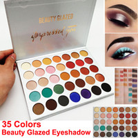 Factory Direct Beauty Glazed Eyeshadow Palette 35 Colors Eye...