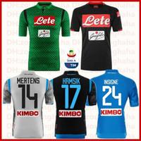 Napoli camisetas de fútbol Top de entrenamiento de la escuadra de Nàpule  2018 2019 en casa 728a86f675215