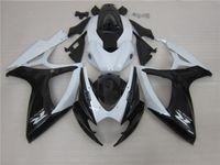Stampaggio a iniezione Black Bianco Bianco AlStare Corona Kit carenatura per Suzuki 2006 2007 GSXR 600 750 K6 GSXR600 GSXR750 06 07 Bodywork RT10