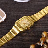 SKMEI Gold Stainless Steel Watches Women  Casual Clock Ladies Wrist Couple Watch reloj mujer  For Female