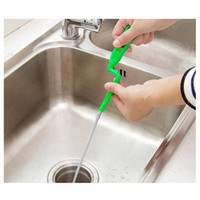 240 cm De Metal De Limpeza De Esgoto Bendable Sink Cleaner Tub Dredge Tubo de Apanhador de Cabelo Ferramenta de Banheiro Criativo Acessórios de Cozinha Do Banheiro