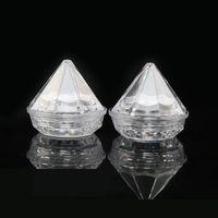 5g Clear ромб Cream Jar Высокое качество Портативный Путешествия Макияж бутылки Контейнер Оптовая