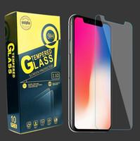 Protecteur d'écran clair en verre trempé 9H pour téléphone portable 4.0 4.5 4.7 5.0 5.0 5.3 5.5 6.0 pouces avec paquet de vente au détail
