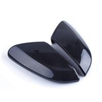 Les chapeaux de couverture de miroir de voiture de Rearview de style de fibre de carbone adaptent pour Honda Civic 2016-2018