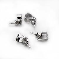 Catenaccio Pinch Clip Bail bead Pendant Connector Fit Europeo Charms Perline F349