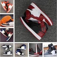 Classic 1s 1 high top royal basketball shoes sneakers black ...