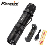 AloneFire X560 CREE XP- L V6 led Tactical flashlight Torch Po...