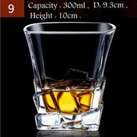 Lot Wine Glasses Beer Whiskey Lead- free Thickened Liquor Cup...