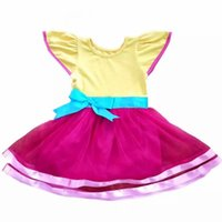 Robe de Noël Fille Licorne et Fantaisie Nancy Robe Enfant Fille Robes Princesse Filles Robes Vêtements Bébé Fille Costume Halloween