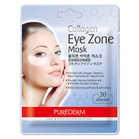 Korea Cosmetic PUREDERM Collagen Eye Zone Mask 30 sheets Cry...