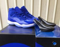 New 11 11s Royal Blue Basketball Shoes Men Women Royal Blue ...