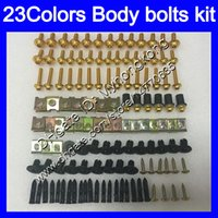 pernos carenado completo kit de tornillos para tornillos SUZUKI GSXR1000 09 10 11 12 GSXR 1000 GSX R1000 K9 2009 2010 2011 12 tuercas del cuerpo de tuerca 25colors juego de pernos