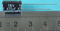 10 UNIDS / LOTE 16V 470UF 8 * 12 MM condensador electrolítico de aluminio 470uf 16v 8X12mm UTILIZADO Y REFORMADO, PERO EN BUEN ESTADO DE TRABAJO