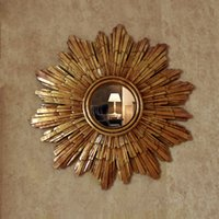 Mr 201041 Glass Wall Mirror Decor With Angled Face Design