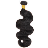 One Bundle Body Wave Brazilian Virgin Hair Extensions Natura...