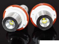 1Set 2 * 6W 12W светодиодных отметки ангелочных глаз для Cree Crey белый / синий / желтый / красный для E39 E53 E60 E61 E63 E64 E65 E66