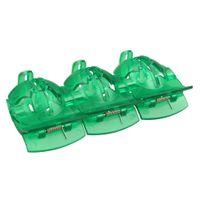 10шт зеленый Мяч для гольфа Alignment Tool Мяч для гольфа линия Маркер Инструмент Пластиковые Гольф Учебные пособия Оптовая Новый промоушен
