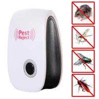 EU US Plug Outdoor Garden Details about Ultrasonic Pest Reje...