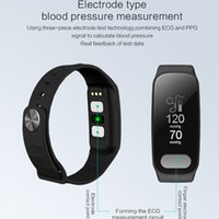 R11 ECG PPG Smart Band 0. 96 inch Screen Heart Rate Blood Pre...