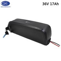 Hailong Lithium-Batterie 36V 17Ah für elektrisches Fahrrad Batteriesatz 36v für Bafang Motor mit Ladegerät Freien Versand und Zoll