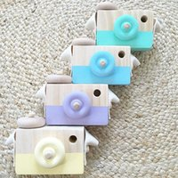 Wooden Camera Lovely Toy Kid Creative Neck Photography Prop ...