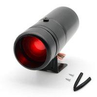 الصمام الأحمر الدوران قابل للتعديل Rpm Tacho Gauge Pro Shift Light 1000-11000 Universal