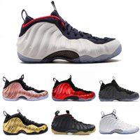 2021 Hommes Chaussures de basket-ball Penny Hardaway pour hommes Sports Sneakers Mousse une aubergine Purple Foams Night Maroon Gum Chaussures Formateurs