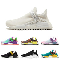 Wholesale HUMAN RACE Pharrell Williams X Men Women Pink Glow...