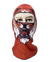 Sombrero animal de dibujos animados, máscaras deportivas para bicicletas y motocicletas, sombreros de montar, máscaras antideslizantes, esquí, casco completo, equipo táctico para exteriores