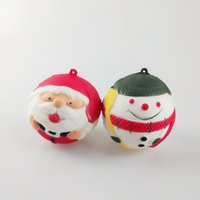 2018 New Squeeze Toy Cute Snowman Santa Claus Slow Rising De...