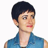 Parrucche corte dei capelli umani del merletto dei capelli brasiliani anteriori non del merletto per le donne parrucche di densità 130% dei capelli umani di colore nero 2 # del brasiliano di Remy