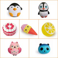 Sample Squishy Penguin Male Penguin Female Cake Ice Cream Le...