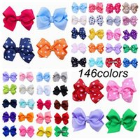 2018 christmas hair accessories for childrens jojo hair bow ...