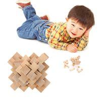24pcs Luban Serrure Enfants Jouets Adulte En Bois Chinois Puzzle Casse-tête Jouet Bébé Enfants Jouet Éducatif