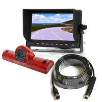 Vardsafe VS605M | Kit de cámara de reserva de luz de freno universal para el automóvil 3er para RV Bus Van Truck