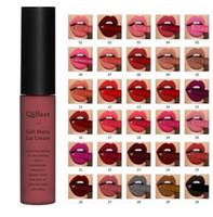 Qibest Marque Lèvres Beauté Maquillage Pigment Lipgloss Imperméable De Longue Durée Velvet Matte Nude Rouge À Lèvres Rouge Brillant À Lèvres Lot