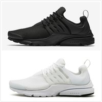 2018 Presto Tripel Black White Running Shoes Men Women Outdo...