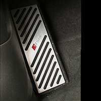 Non- slip Auto Car Foot Rest Pedal Pad Cover With 3M For Audi...