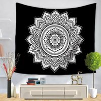 1 PCS Delicate Wall Tapestry Multifunction Mandala Carpet Be...