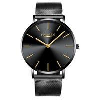 2018 Top Marca de Moda de Luxo Ultra Slim Relógio Mulheres Relógio de Malha de Aço Mulher de Negócios Simples Relógio de Quartzo Wirstwatch Relógios Erkek Saat Womes