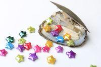 New Star Chegada pérolas de água doce Oyster com belas cores 10-11mm Jogo Starlike Edison água doce da pérola para o partido